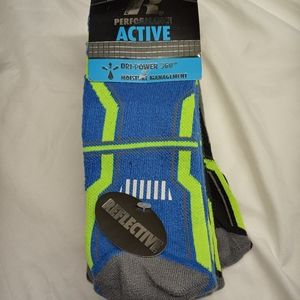 Russell Performance Dri-Power Athletic Socks